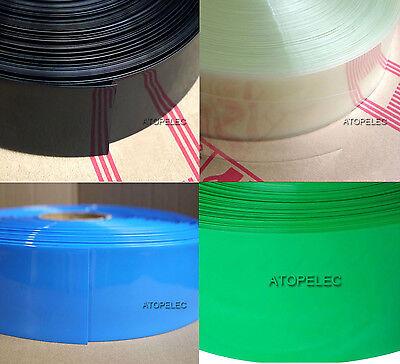 100X 18650 Battery Wrap PVC Heat Shrink Tubing Pre-cut Precut Best s//