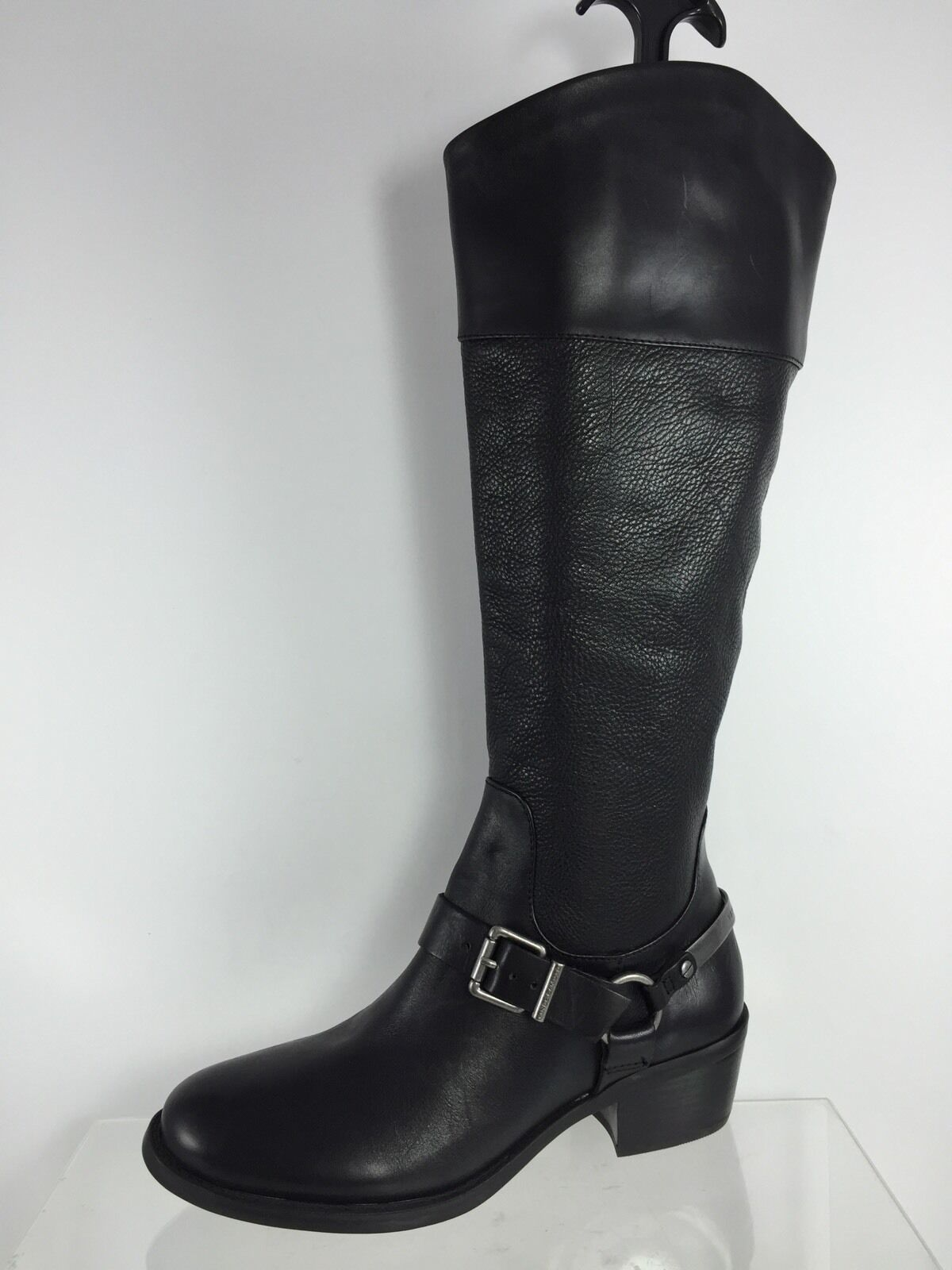 Vince Camuto Camuto Vince Womems Black Leather Boots 6.5 M 76ca7a