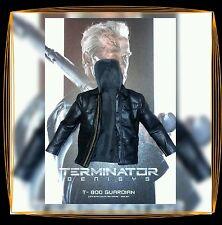 1/6 Hot Toys Terminator Genisys T-800  Black Leather Jacket MMS307 *US Seller*