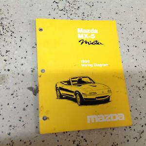 1996 mazda miata mx 5 mx5 electrical wiring diagram troubleshooting rh ebay com 1996 mazda miata repair manual 1996 mazda miata service manual