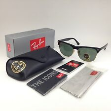 Sunglasses Ray-Ban OVERSIZE CLUBMASTER RB 4175877 Black Green crystal 57mm G-15
