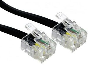 5m-RJ11-ASDL-Cable-Black-HIGH-SPEED-Broadband-Modem-5-Metre-Plug-to-Plug-Lead