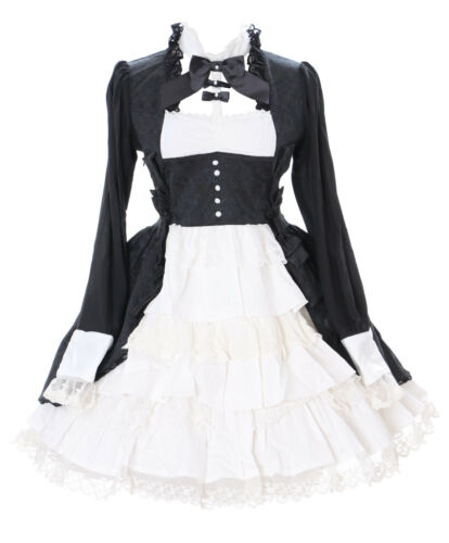 Quality Cosplay Lace Black 648 Victorian Classic Jl Dress Gothic Lolita TEgzxTw