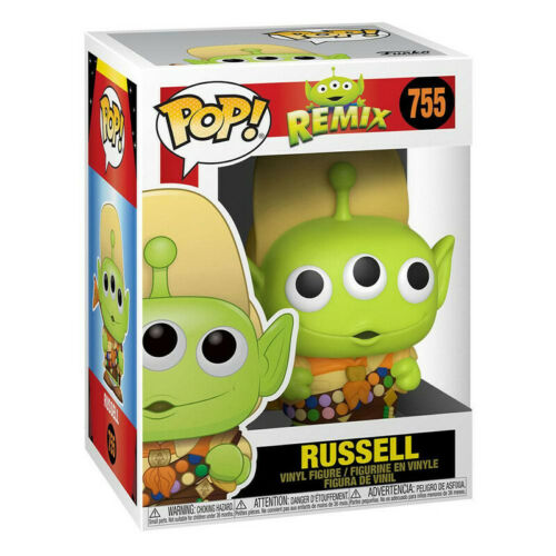 Toy Story POP Disney Vinyl figurine Remix Alien as Russel 9 cm Funko figure 755