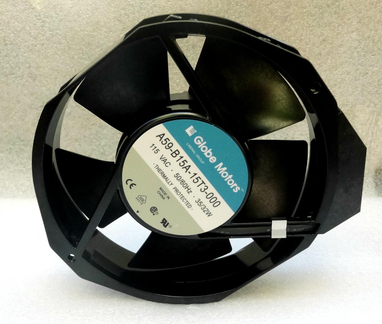 """5.75/"""" Dia. Globe Motors A59-B15A-15T3-000 Fan 115VAC 50//60Hz 35//32W"""