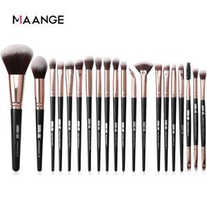 Marmol-20PCS-Maquillaje-Cepillos-Pinceles-Set-Sombra-de-ojos-Delineador-de-mezcla-de-cejas