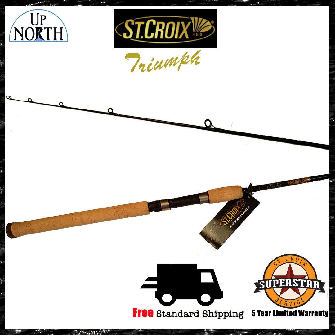 New  St.Croix Triumph Salmon & Steelhead Spinning Fishing Rod (Various Models)