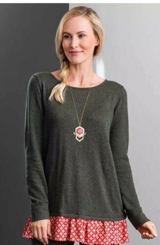 Matilda Jane My Miracle Sweater Women/'s Size Medium Make Believe NWT In Bag