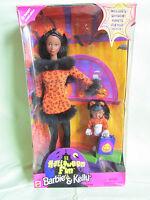Halloween Fun Barbie & Kelly Cat Doll Gift Set 23461 Mattel 1998 Target