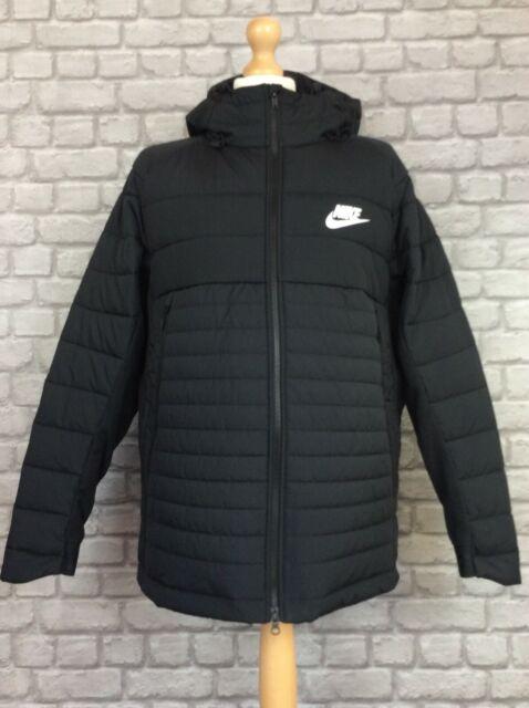 oler Inspector desenterrar  Nike Av15 Woven Jacket Mens Black Coat Outerwear XXLarge for sale | eBay