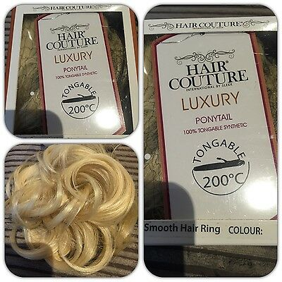Hair Couture Luxury Hair Scrunchie BySleek Hair Tongable to 200c