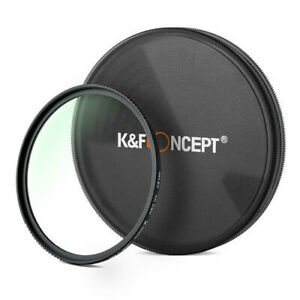 K/&F Concept 52mm MC UV Protection Filter Slim Frame with Multi-Resistant Coating for Camera Lens