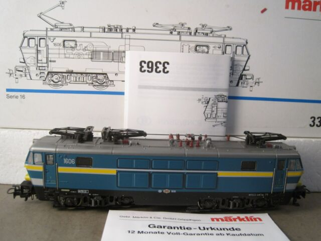 Märklin HO  3363 Serie 16 SNCB  ladenneu