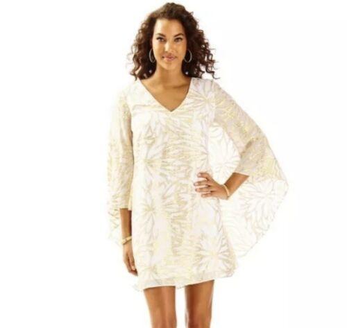 Lilly Pulitzer MIRI Caftan Dress RESORT WHITE & GO