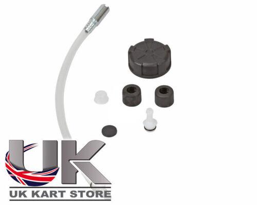 Serbatoio Carburante Nero Kit di Connessione Go Kart Kart Corsa Corsa