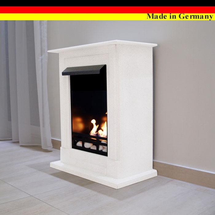 Ethanol Firegel Cheminee  Caminetti Madrid Premium blanco +21 pièces ensemble