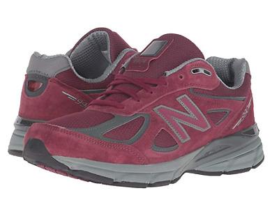 5cb6efac25343 New Balance Men's 990 Running Shoes Burgundy - M990BU4   eBay