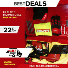 Hilti Te 5 Hammer Drill With Drs Made In Germany Free Extras Durable Fast Ship