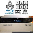 OPPO DIGITAL BDP-83 MULTI REGION CODE FREE BLU-RAY DVD SACD PLAYER USED IN BOX