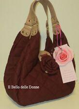 30% Shoulder bag CAMOMILLA La Martina S red brick eco-leather quilted