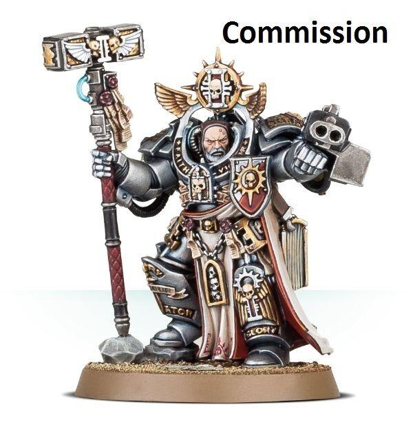 Grand Master voldus marines espaciales  Comisión  magníficamente pintado warhammer 40K