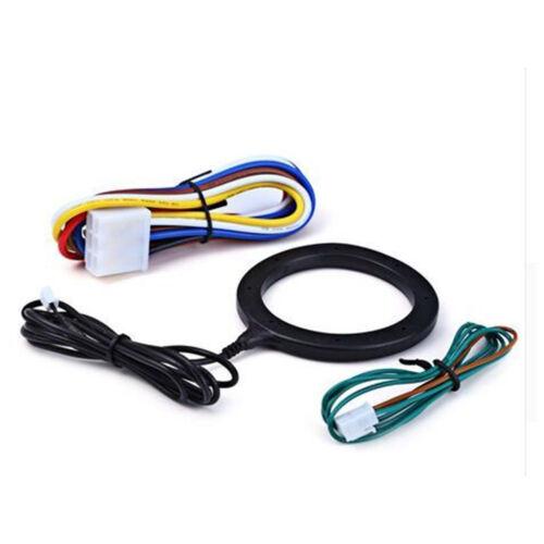 Keyless Entry Car Push Start Button RFID Lock Engine Starter Ignition Car Alarm