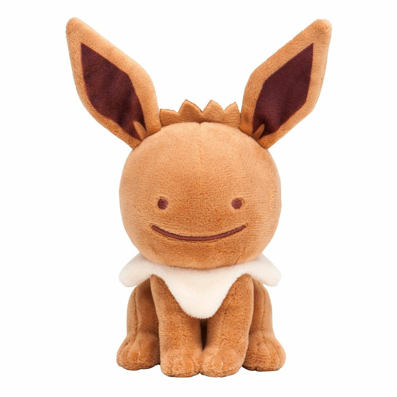 Pokemon Center Original Plush Stuffed Doll Transform   Ditto Eevee