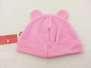 e9857e9c575 Zutano Pink Cozie Fleece Bear Hat 12 Month NWT R 16.99 754155398566 ...