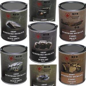 MFH-Farbdose-Army-1-Liter-Militaerlack-Militaerfarbe-Armee-Lack-Nato-Farbe-NEU