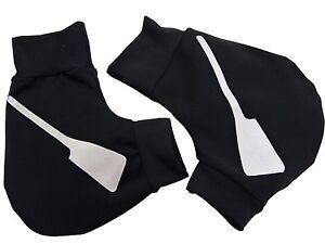 Ruderhandschuhe-schwarz-silber-mit-Aufdruck-Rudern-Rowing-Poggies