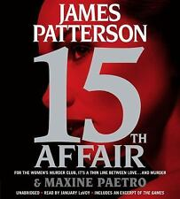 Women's Murder Club: 15th Affair by James Patterson and Maxine Paetro (2016, CD, Abridged)