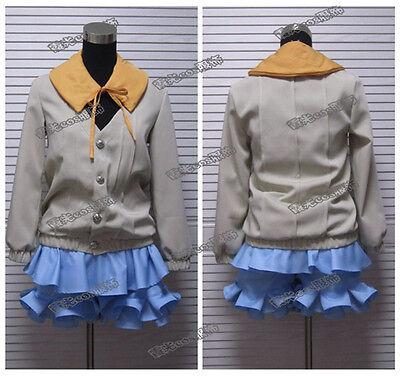 Tokyo Ghoul Hinami Fueguchi Cosplay Costume Yellow Coat Full Set
