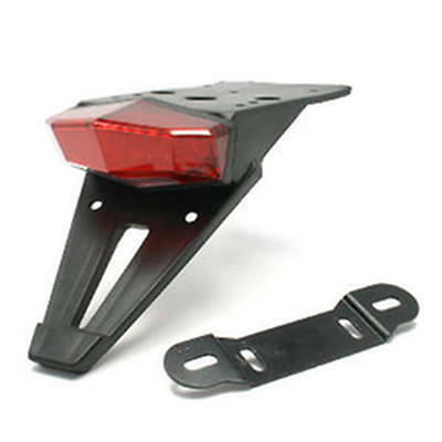 DRC Edge2 Universal Red Tail Light w/ Bracket / Holder