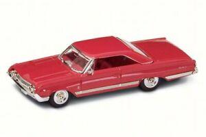 1964 Mercury Marauder, Rosso-Road Signature 94250 - 1/43 SCALA DIECAST MODELLO AUTO