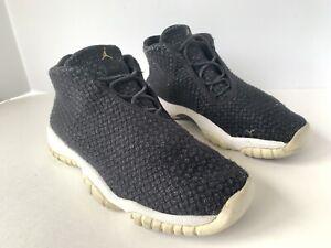 Nike-Air-Jordan-Future-Retro-BG-GS-SZ-5-5y-Black-White-Woven-Oreo-656504-021
