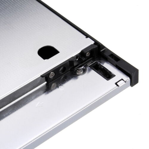 SATA 2nd HDD Caddy 12.7mm for 2.5/'/' SSD Case HDD Enclosure for Lenovo T420 T430