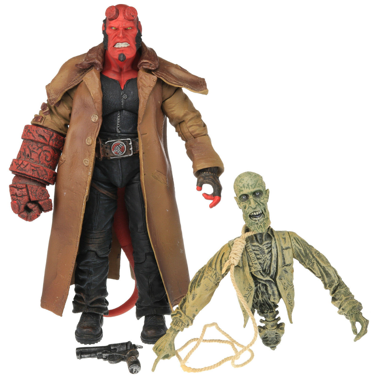 SDCC HELLBOY & IVAN Open Mouth Mouth Mouth Closed Fist 7.5