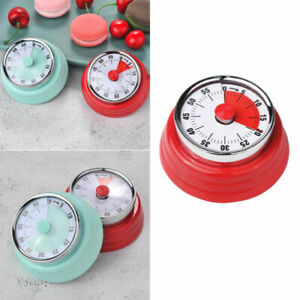 1pc Creative Mechanical Kitchen Cooking Alarm Timer Reminder 60Minute TooY HK