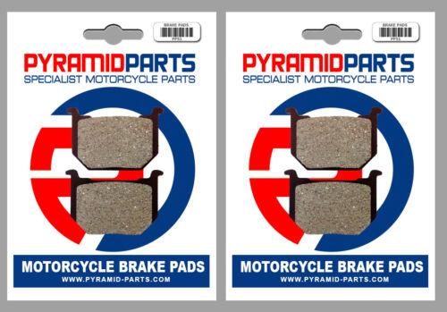 Front Brake Pads 2 Pairs for Suzuki GS 850 G 83-84