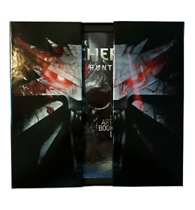 Witcher 3: Wild Hunt Collector's Edition (NO GAME) Box, Art Book, Stickers