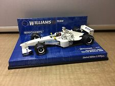 1/43 MiniChamps Williams F1 FW21 Test Car Michelin 2000 Limited 4 012138 040175