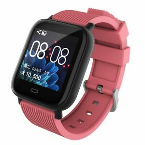 Smart Watch Touch Screen Fitness Tracker Heart Rate Monitor Call for Women Girls
