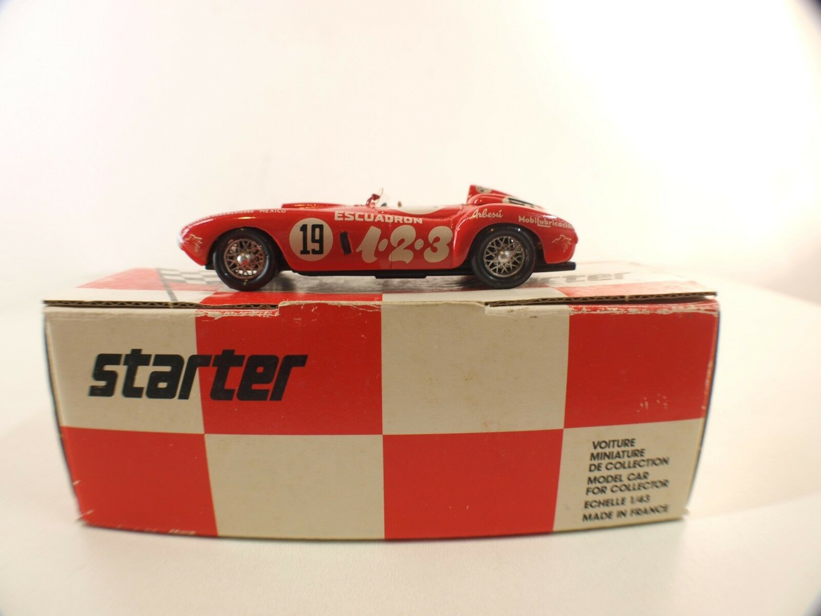 F. D. S - Ferrari 375 Plus - Panamerica  19 1954-1 43 - Kit Montado