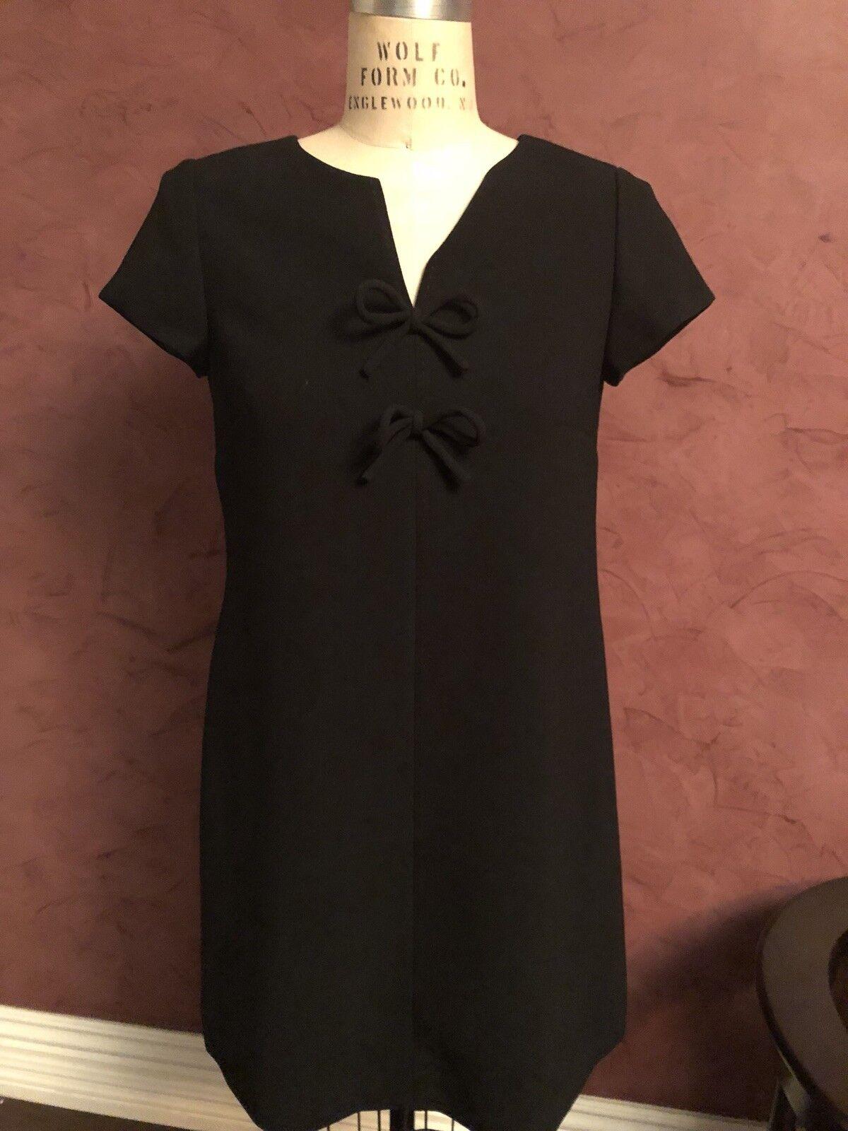J Crew Little schwarz Dress Sz 8