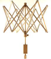 Stanwood Needlecraft: Large Wooden Umbrella Yarn Swift Yarn Winder - 8.5 Ft