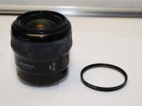 Minolta Maxxum AF 28-80mm F/4-5.6 zoom Lens Sony Alpha A33 A55 A65 A77 A390 + UV