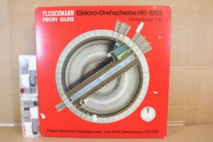 FLEISCHMANN-6152-electricos-Mesa-Giratoria-with-6153-Track-salidas-Menta-En-Caja