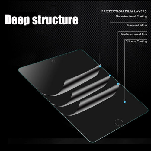 9H Tempered Glass Screen Protector For iPad  mini 5 7.9 A2133 A2124 A2126 A2125
