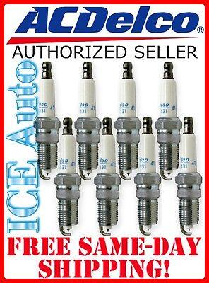 6 spark plugs Iridium ACDELCO 41-101 6 PACK Spark Plugs