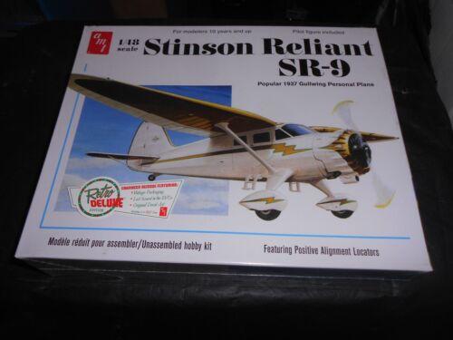 1//48 STINSON RELIANT SR-9 PLASTIC MODEL KIT AMT 905